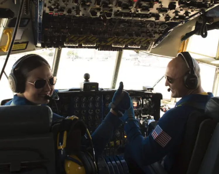 Naval aviators talk the dangers and thrills of taking off and landing on an aircraft carrier