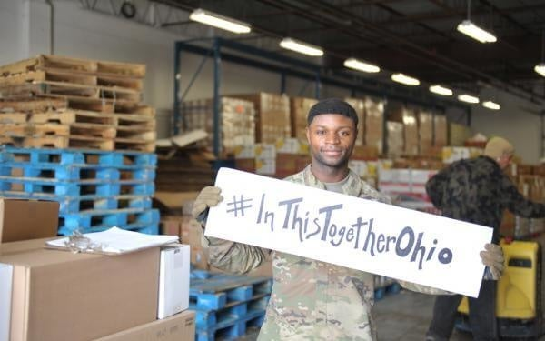 Congolese refugee's work with Ohio National Guard serves as reminder of parents' sacrifice