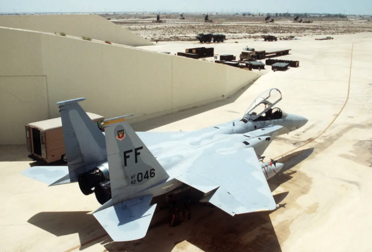 That time an F-15 landed without a wing